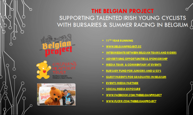 The Belgian Project still looks for support towards the bursary fund 2019. Tailor-made advertising & sponsors deals
