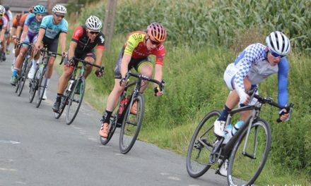 Last Saturday day racing up the Wicklow Gap and podium, 2 days later getting top 10's on flat Flanders roads…Liam Curley (Strata 3-Velo-Revolution) has multiple talents for sure!!