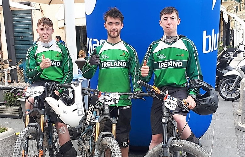 Enduro U21 Team Ireland 7th in the Bluegrass Trophy of Nations powered by SRAM (Enduro World Series)Finale Ligure, Italy 28-29th September.