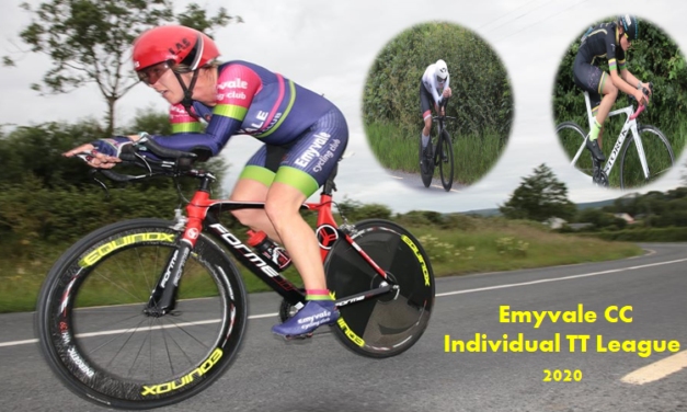 Emyvale CC Individual TT League 2020 (Rd 1) was held in Tydavnet (Monaghan) last night on a challenging hilly course (2 JULY 2020)
