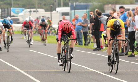 Taken a Bull to the line…only one outcome in Nuts Corner, but it was close…very close!! John Buller wins A-race while 2 other B's winning the support races, with Sharon Bird (Ladies) and Ross Blayney (A4) on Tuesday 11th August for Round 2 of the Crit series!!
