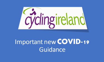 Some important updates received from Cycling Ireland due to new restrictions announced on sports events this week!!