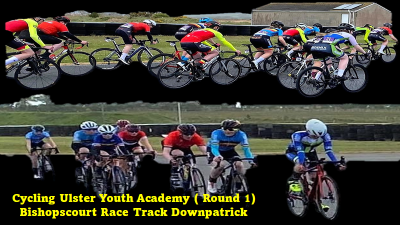 At least we have our youngsters racing again in N-Ireland !! Round 1 at the Racing Track of Bishopscourt in Downpatrick report (Sunday 9th May) courtesy of Cycling Ulster Youth Academy