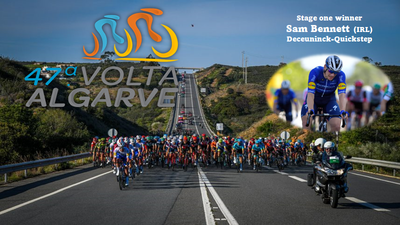 Sammy B is the fastest again…his 6th win of the 2021 season is a fact..this time in Portugal in the 1 st stage of the Volta Algarve