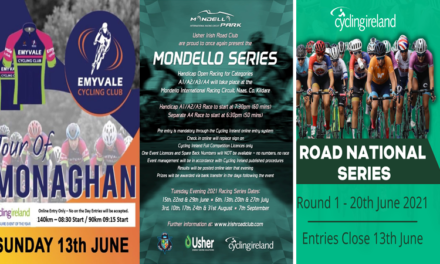 We are getting in second gear with the South of Ireland starting promoting events from next week!! Here some of the big events to enter online for June…be quick as they fill fast!!