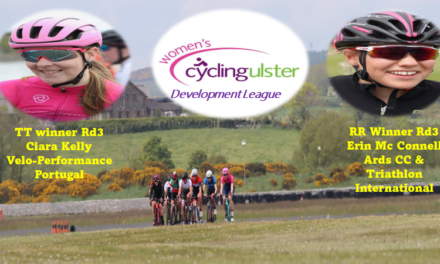 The 2021 Women's Cycling Ulster Development League (rd 3) was in full flow last Saturday the 29th of May in Bishopscourt (Downpatrick) This event was in conjunction with the CU Youth Academy and a very successful one indeed!!