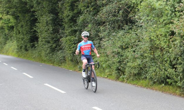 """The """"Visit Newcastle West"""" 4-day Stage race (Day 2-Saturday 31st July) Proper distances give proper racing…The full results and KOH results…Who Daire wins!!!"""