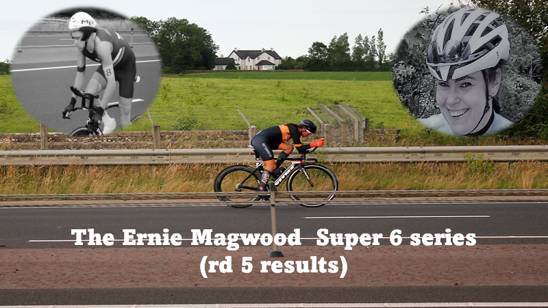 Ernie Magwood Super 6 Time Trial League got his penultimate round (5) yesterday, Thursday 15th July. Marcus Christie and Jennifer Bates fastest on the day!! The results in full…