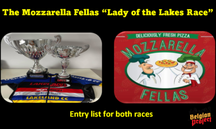 """The Mozzarella Fellas """"Lady of the Lakes Race"""" held tomorrow in Irvinestown (Fermanagh) and promoted by Lakeland CC and sponsored by the local pizzeria  """"Mozzarella Fellas"""" The entries of both races…"""