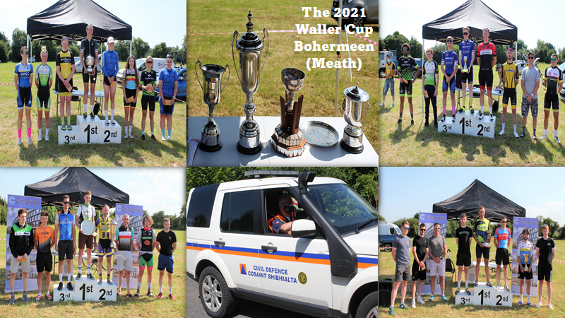"""The 2021 """"Waller Cup"""" in Bohermeen was drenched in glorious sunshine with 7 separate races on the menu divided into 2 waves of fierce competition…Grabbing a """"Bidon"""" became an art yesterday in County Meath (Sun 18July) as water became more valuable than Gold!!"""