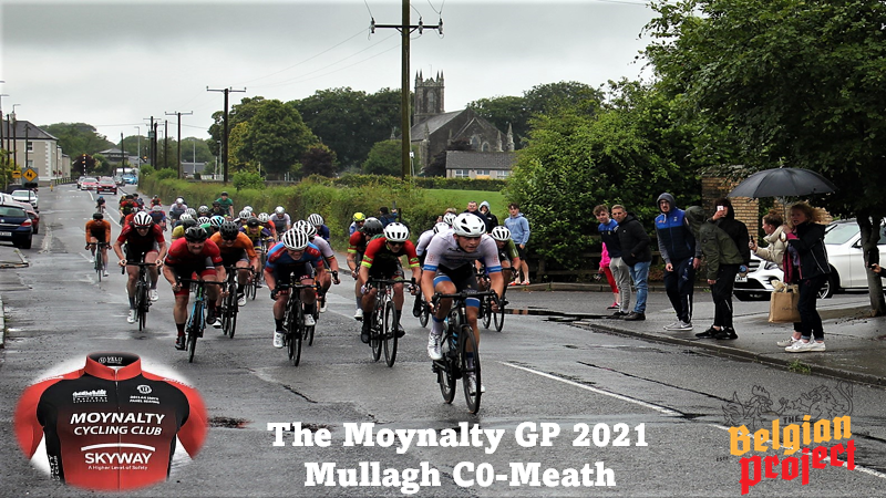 Sprint specialist Aaron Wade (Powerhouse Sport) continues his blazing form from Spain by winning the Moynalty Gp in drizzly Irish weather conditions (hello Summer??) this at the village of Mullagh, County Meath Yesterday (Sun 11th July) + Results and photo's from all senior race promoted by Moynalty CC.