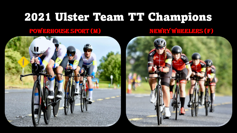 The 2021 Ulster Team TT Championship (40km) was held in Cavan last night (Tues 27th July) promoted by Breffni Wheelers and Cycling Ulster