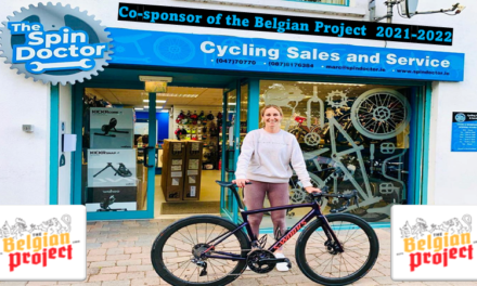 """the sponsors of the Belgian Project for 2021-2022 (Part 1) Welcoming new co-sponsor """"The Spin Doctor"""" a bicycle shop from Emyvale in County Monaghan run by Marc Andrews (Emyvale CC) Thanks so much for believing in what we do!"""