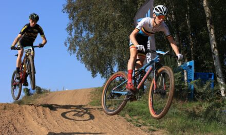 """The podium results of the weekend's """"2021 Cross Country Mountain Biking National Championships"""" in Newry sponsored by Chain Reaction Cycles, and captured with magic shots of Toby Watson!!"""
