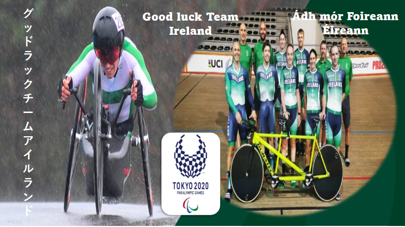 Our Paralympic cyclists are on their way to Tokyo!! Track next week, the TT and Road Race's the following week …We wish them the success they so deserve!! GO…team Ireland…GO!!