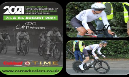 Start times of Saturday's Irish Masters Time Trials 2021 in Maghera (County Derry) promoted by Carn Wheelers (Sat 7th August)