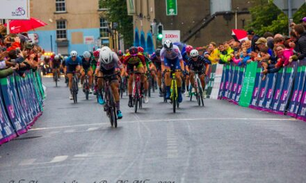 """Junior Kaia Schmid of the LUX Cycling team (USA) Wins on European Debut the first stage of """"the Ras Na mBann 2021"""" Plenty of Irish girls in contention at the same time as the winner!! The results (Wednesday 8th September)"""
