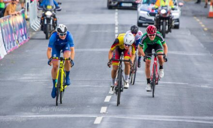 Dutch Loesje Adegeest (Team Jan van Arckel) wins stage 2 of the Ras na mBan in Piltown (Thur 9th September) Abi Smith (Team GB) takes the new lead of the race, but Alice Sharp (team Ireland) breading in her neck in second place!! The results…