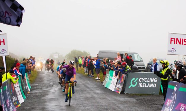 Superb performance from Team Ireland in Stage 3 (The Cut in Co. Laois) sees Alice Sharp staying in 2nd position in GC (same time as leader Abi Smith-Team GB) going into the TT stage of the Ras na mBan today!! (Friday 10th September)