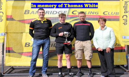 Entry list & start times for today's (5th September) Thomas White Memorial TT, incorporating the Cycling Ireland National Para-Cycling League, and promoted by  Banbridge CC at Warrenpoint Co-Down…