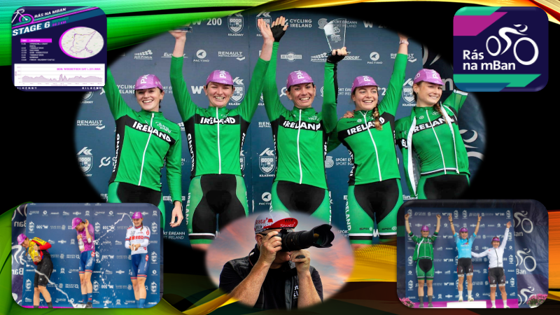 The final results of the 2021 Ras na mBan (Stage 6) with the finish at Kilkenny Castle…Our irish girls can be very proud of themselves, every single one!! Well done to Anna Shackley (Team GB) for the overall win! (Sunday 12th September)