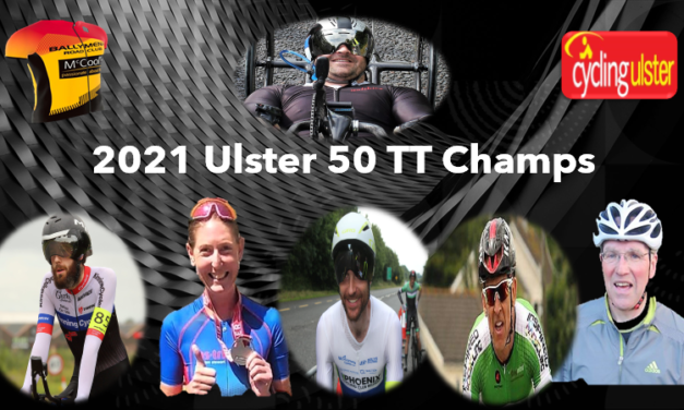 The 2021 Ulster 50 mile TT results and medal allocations of last Sundays Championships at Woodgreen Ballymena-Antrim (12th September) promoted by Ballymena RC & CU