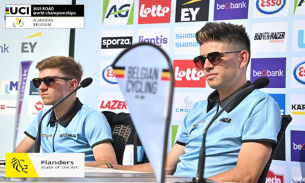 """Preview, route and start list of the """"2021 Men's Elite ITT World championships"""" in Knokke-Heist (Coast Belgium) tomorrow Sunday 19th September…Good luck to Ryan Mullen and Marcus Christie!!"""