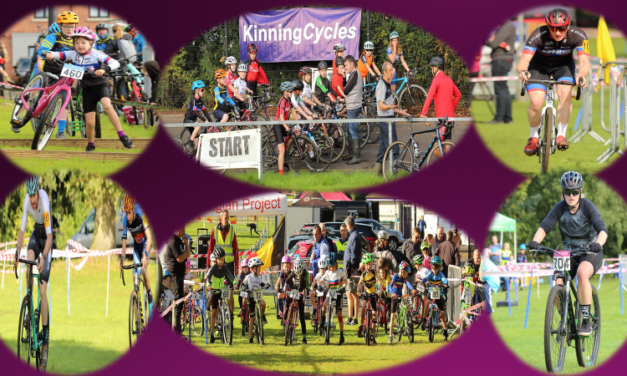 The Brian Kinning GP and first CX in Ulster of 2021 was held at the sunny Orange Field velodrome and playing fields in Castlereagh (Belfast) on Sunday the 19th of September and promoted by local club Kinning Cycles
