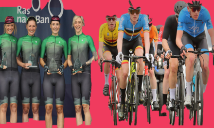 What's on this week? Ras na mBann for our girls, European Champs for team Ireland, The Mondello Final race, A charity sportive, track, Time Trial Champs, and some road races (Tues 7th September-Sunday12th Sep)