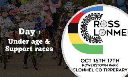 (Part 1) Today the 16th of October in Clonmel, County Tipperary…the list of entries and start times of the Under Age & Support races, this as part of the UCI CX weekend…