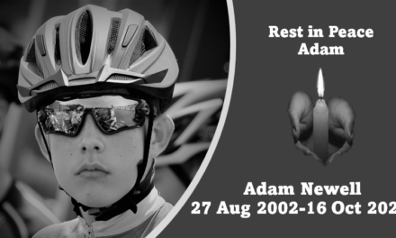 Sad news received from East-Tyrone CC, this with the sudden and untimely death of their 19-year-old talented cyclist  Adam Newell yesterday (Sat 16th October)