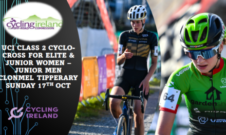 (paRT 2) THE ELITE Women & Junior girls & Junior Men (UCI 2) CYCLO-CROSS IN CLONMEL (CO-TIPPERARY) last Sunday 17th October, AND PROMOTED BY CLONMEL CC…A REPORT BY MARTIN GRIMLEY with PHOTOS FROM SEAN ROWE