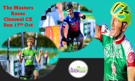 (Part 3) The Masters 40-50-60 CX support races at the UCI Clonmel cyclo-cross last Sunday (17th October) Report & results from Martin Grimley, and photos, Sean Rowe