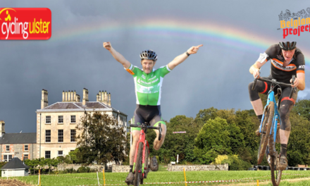 """Alan Bingham (Newry Wheelers & Irish CX Vet Champ) wins the """"Get Down and dirty"""" CX (Ulster League rd1) at the Florida manor in Killinchy Co-Down (Sunday 3rd October)"""